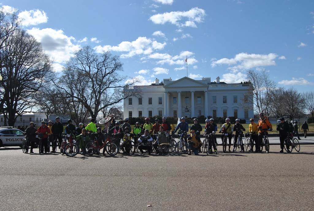 A group photo from last year's Congressional Ride.