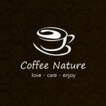 Coffee nature logo