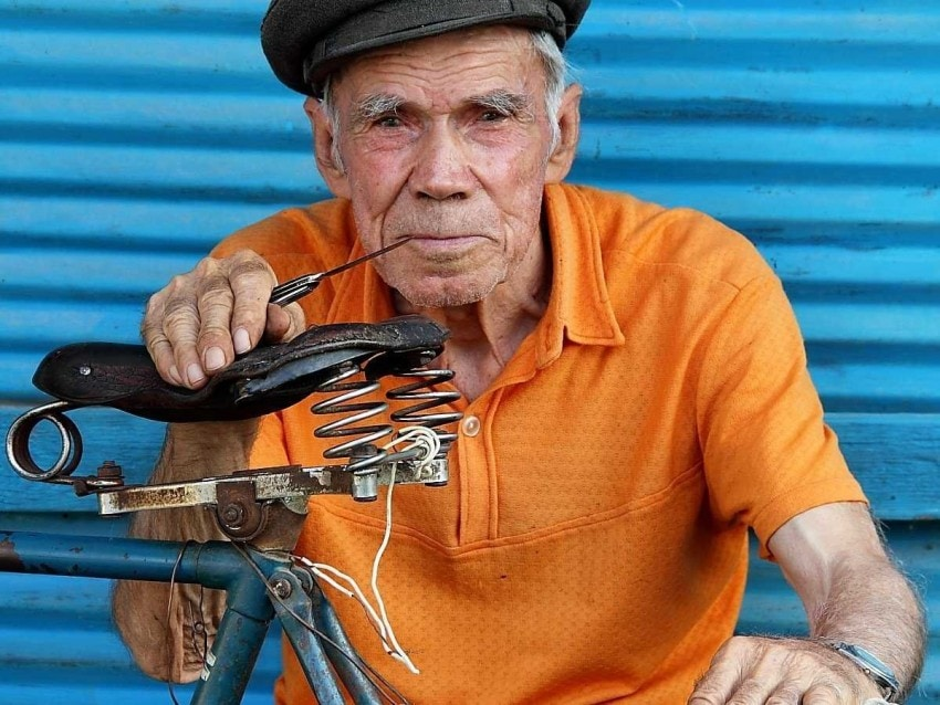 Finely tuned and well-cared for. The bike's not too bad, either. Image via Business Insider.