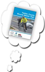 Fairfax County Bike Master Plan thought bubble