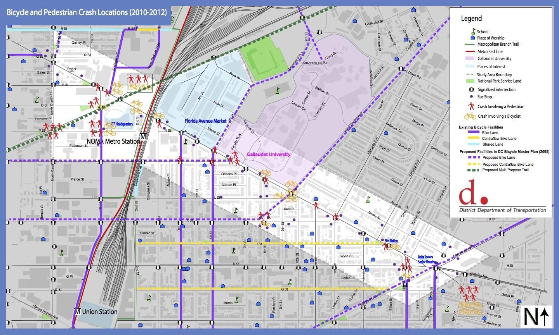 Florida Ave NE | Washington Area Bicyclist Association