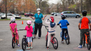 Youth Learn to Ride Class