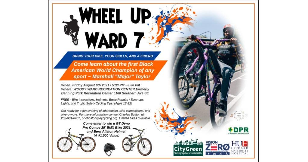 Flyer: Wheel Up Ward 7